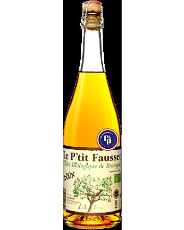 Cidrerie Le P'tit Fausset - Doux Bio - 2019 - 75 cl